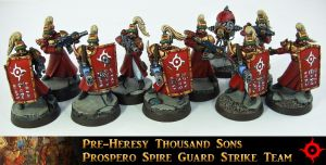 Prospero Spire Guard Strike Team II by Proiteus