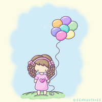 Colorful Balloons by xXMandy20Xx