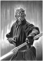 Darth Maul by donchild