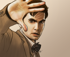 10TH DOCTOR by FISHNONES
