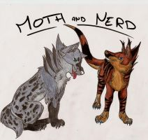 trade Moth and Nerd by mariewolf-hors-fox