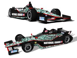 National Guard 2012 IndyCar by tucker65
