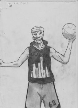 277: Zombie Basketball by TzaoTao