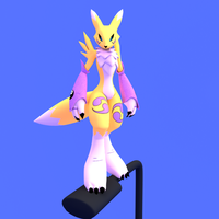 farol :renamon: lappost by Aurelio-hl2