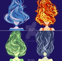 Four elements by MsCoks