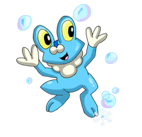Froakie by glaciethewolf
