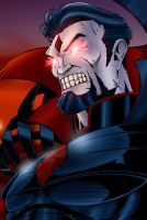 Mr. Sinister Colored by CliffEngland