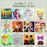 Art summary 2014 by Emsoble