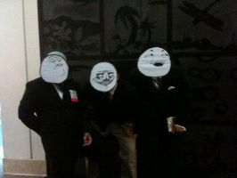 Anime Expo 2012 Lol Faces by Fainting-Ostrich