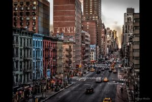 1st Avenue Manhattan by Tomoji-ized