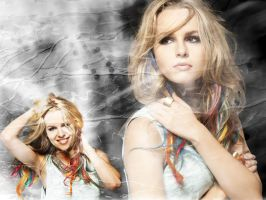 blue 7 BRIDGIT MENDLER by AMDEMBOG123