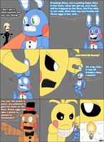 FnaF2 Freddy and Bonnie's prank FAIL page 2 by xMisterFisX