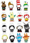 Generation Miffy the Men by likimonster