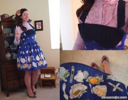 Doctor Who Tea Dress by aimeekitty