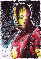 Iron Man fanart by Ireness-Art