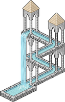 Pixel Escher FINAL by jedipherous