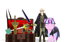 MMD x My little pony: Fire Emblem Pack by Zoroark67