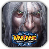 Warcraft III The Frozen Throne Game Icon by Wolfangraul