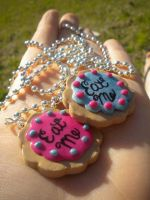 Eat Me - AIW Necklace by justinsgirl8887