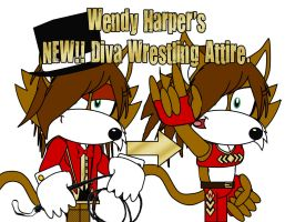 Wendy Harper's Wrestling Outfit by AshleyWolf259
