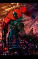 Optimus Prime by LivioRamondelli