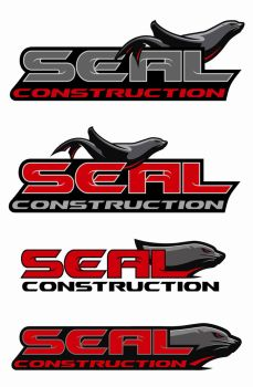 SEAL CONSTRUCTION LOGO by thor1151