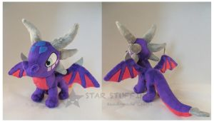Cynder Dragon Plush by StarMassacre