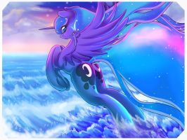 Luna of the Ocean by TSUNAMICULT