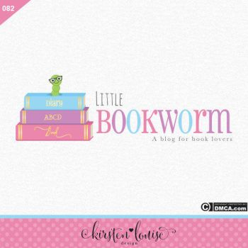 Bookworm Logo Design by KirstenLouiseArt