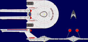USS Derf AU TOS Multi-View by captshade