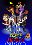 Super Legend Heroes Poster Teaser by Mighty355