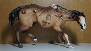 Zombie Equine Sculpture by Ayedeas