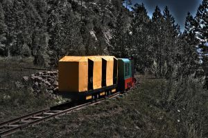 Mine train HDR by LutherHarkon