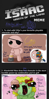 Binding of Isaac Meme Asse edition by Assechan