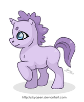 Lavender Pony by MySweetQueen