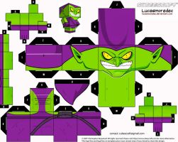 Green Goblin Cubeecraft by Lucasmoredec