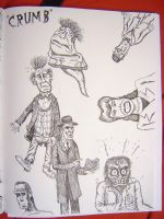 Crumb Sketches by gollum42