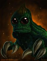 Sleestak! From the Land of the Lost. by ArtNomad