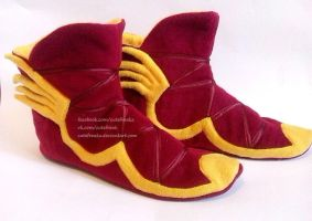 Boots of Travel home slippers by cutefreakz