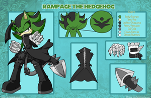 The Superior Rampage The Hedgehog by NeoStrife