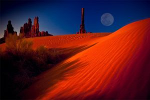Totem Pole, Monument Valley NP by gursesl