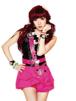 Tiffany (SNSD) Casio Baby-G! png [render] by Sellscarol