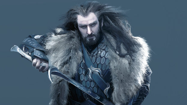 Thorin digital drawing by dubz002