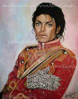 FOR ALL TIME - Michael Jackson by AlenaGalayko
