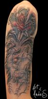 Rose Tattoo by Anderstattoo