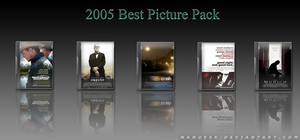 2005 Oscar Best Picture Pack by manueek