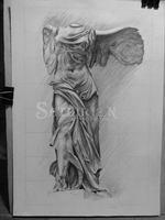 Nike of Samothrace by Sathirien