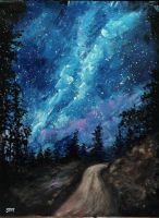 The Road to the Milky Way by ThisArtToBeYours