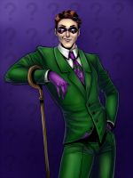 The Riddler by Salamandra88