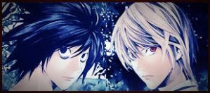 Death Note L and Light (effects) by Puffypaw